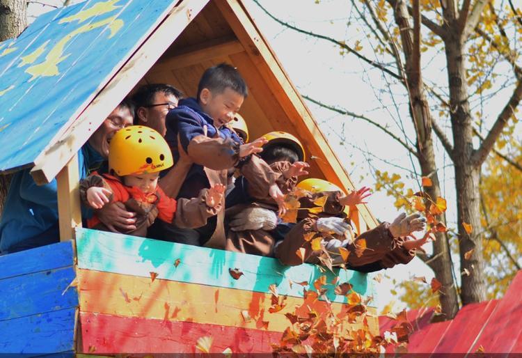 游美 亲子营 | 考拉树屋建造营(北京)(华彬)